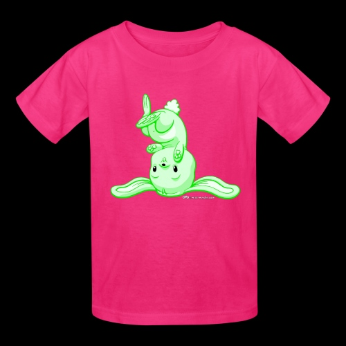 Green Bunny - Kids' T-Shirt