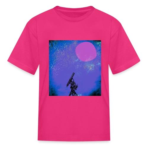 Telescope Diderot's Encyclopedia - Kids' T-Shirt