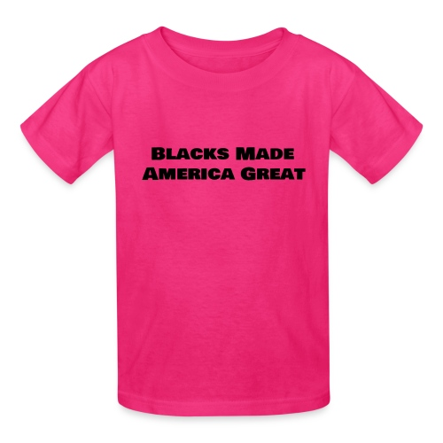 (blacks_made_america) - Kids' T-Shirt