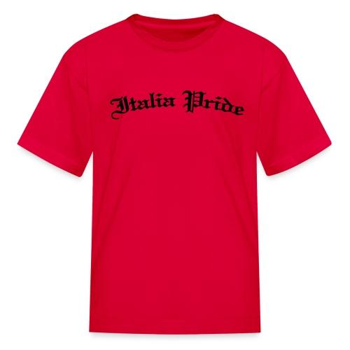 Italia Pride Gothic - Kids' T-Shirt