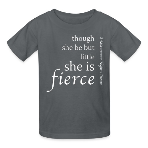 She Is Fierce Midsummer - Kids' T-Shirt