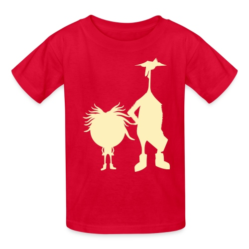 Official The Chicken and The Egg Design - Kids' T-Shirt
