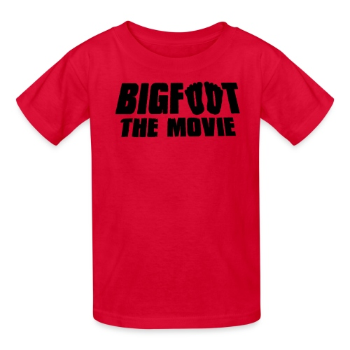 bigfoot the movie - Kids' T-Shirt
