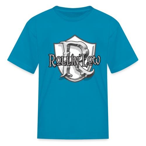 Rollin Low Shield by RollinLow - Kids' T-Shirt