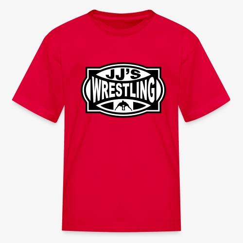 JJs Club Wrestling Logo Mono - Kids' T-Shirt