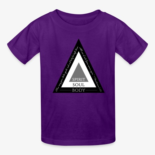Spirit Soul Body - Kids' T-Shirt