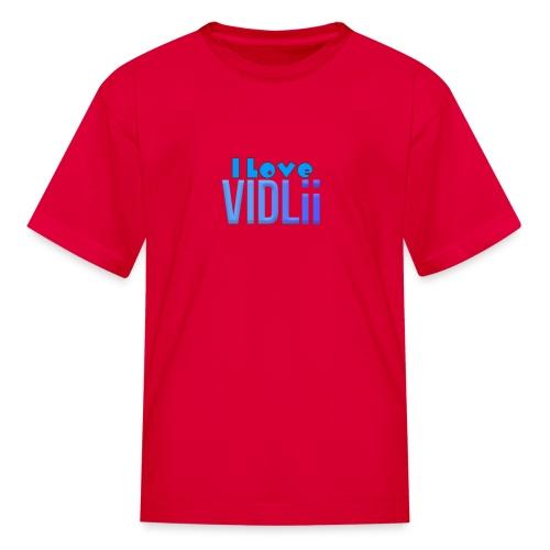 I Love VidLii - Kids' T-Shirt