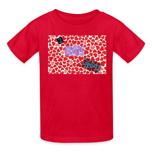 2 hearts apart - Kids' T-Shirt
