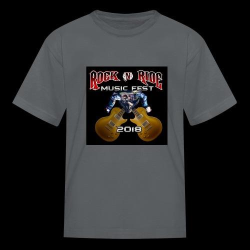 RocknRide Design - Kids' T-Shirt
