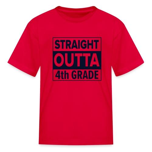 straightoutta 4th - Kids' T-Shirt