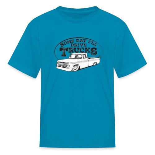 Kids63C10BaggedLongFleet - Kids' T-Shirt