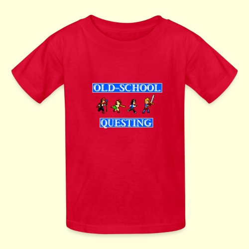 Old School Questing - Kids' T-Shirt