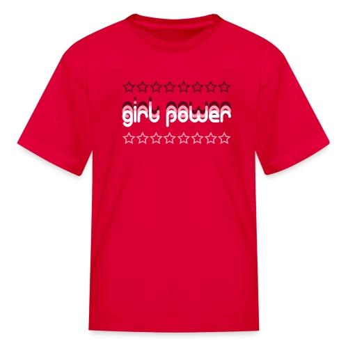 girl power - Kids' T-Shirt