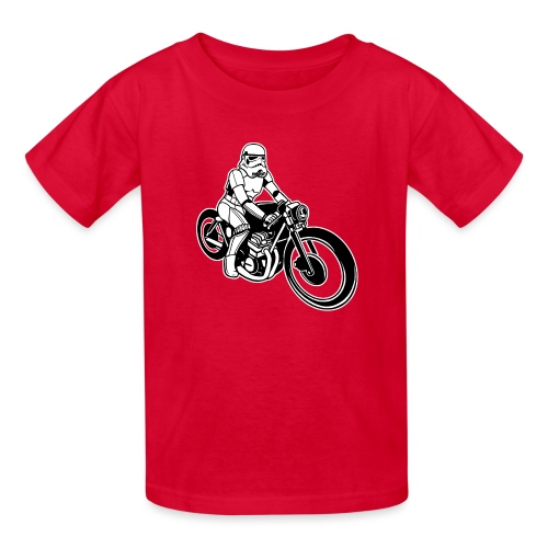 Stormtrooper Motorcycle - Kids' T-Shirt