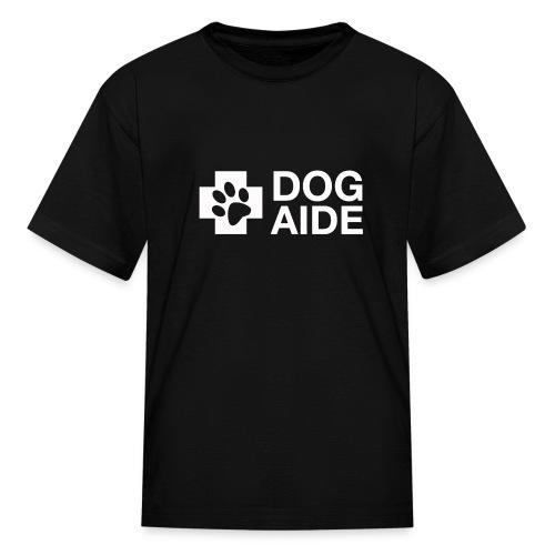 DA Logo White - Kids' T-Shirt