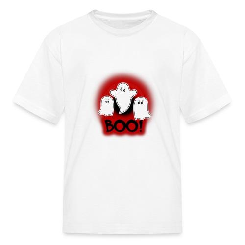 Ghosties Boo Happy Halloween 5 - Kids' T-Shirt
