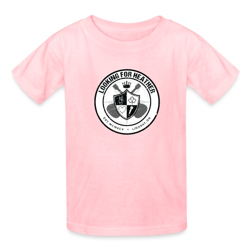 Looking For Heather - Crest Logo - Kids' T-Shirt