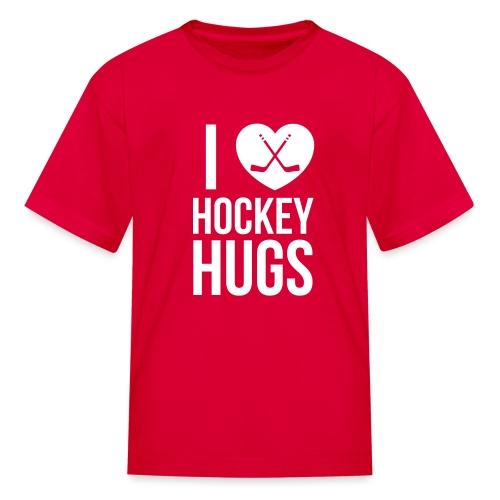 I [Heart] Hockey Hugs - Kids' T-Shirt