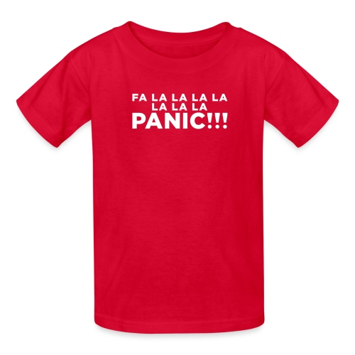 Funny ADHD Panic Attack Quote - Kids' T-Shirt