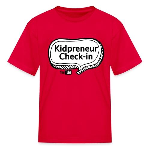 Kidpreneur Check-In Logo - Kids' T-Shirt