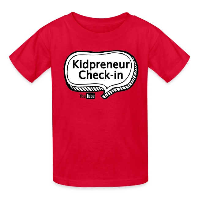 Kidpreneur Check-In Logo