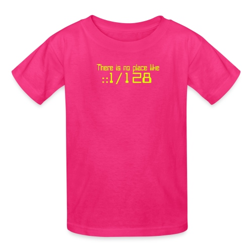 There is no place like localhost IPv6 - Kids' T-Shirt
