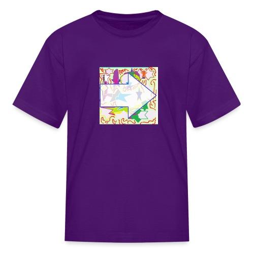 shapes - Kids' T-Shirt