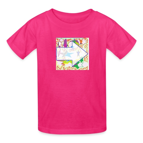 shapes - Kids' T-Shirt