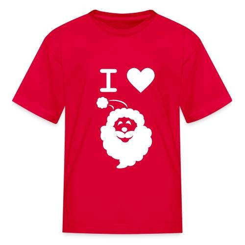 I LOVE SANTA - Kids' T-Shirt