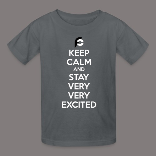 STAY EXCITED Spreadshirt - Kids' T-Shirt