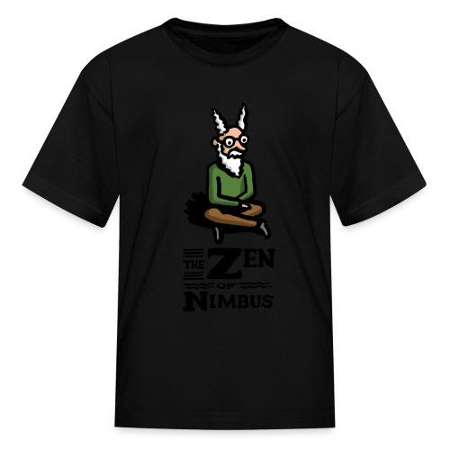 The Zen of Nimbus t-shirt / Nimbus color with logo - Kids' T-Shirt