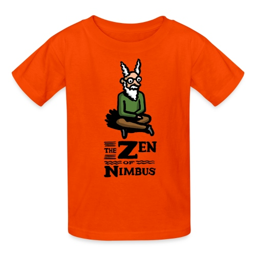 The Zen of Nimbus t-shirt / Nimbus color with logo - Kids' T-Shirt