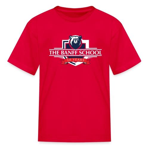 50th Anniversary Crest - Red - Kids' T-Shirt