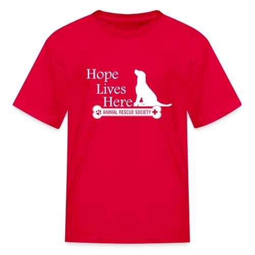 Hope Lives Here Women's Hoodie - Kids' T-Shirt