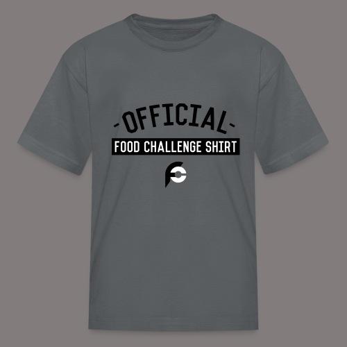 Official Food Challenge Shirt 1 - Kids' T-Shirt