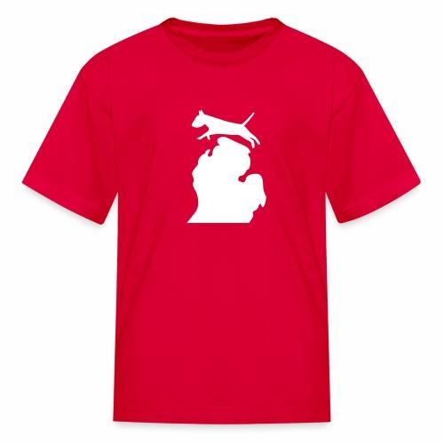 Bull terrier michigan shirt womens - Kids' T-Shirt