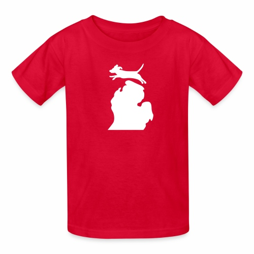 Beagle Michigan womens shirt - Kids' T-Shirt