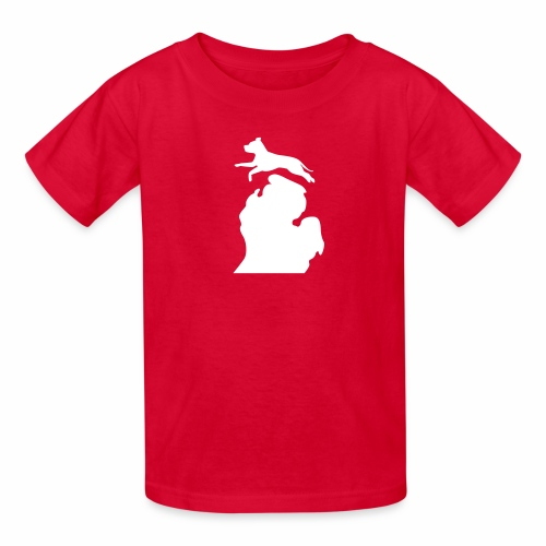 Pitbull Bark Michigan children's shirt - Kids' T-Shirt