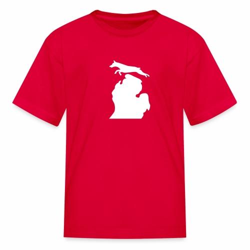 Doberman Bark Michigan Children's Shirt - Kids' T-Shirt