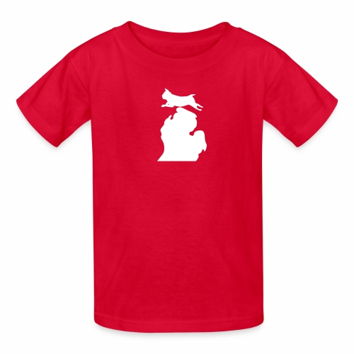 Pug Bark Michigan - Kids' T-Shirt