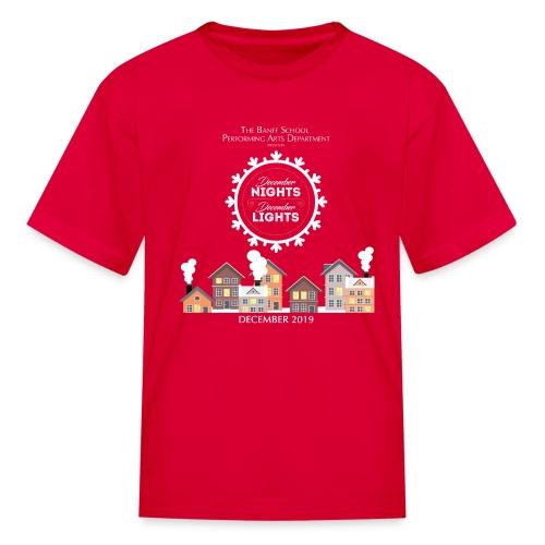 December Nights, December Lights K-5 Show Shirt - Kids' T-Shirt