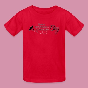 miracles in boys - Kids' T-Shirt