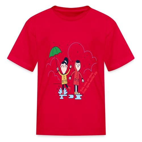 rain go away - Kids' T-Shirt