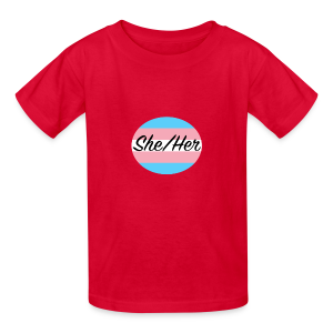 She/Her - Kids' T-Shirt