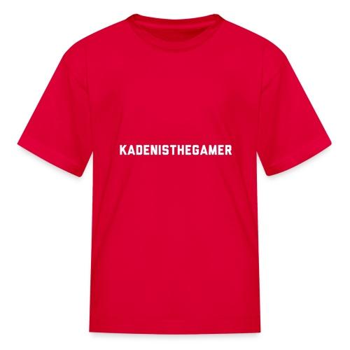 KADENISTHEGAMER - Kids' T-Shirt