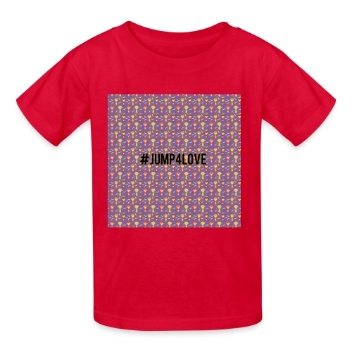 Jump4Love - Kids' T-Shirt
