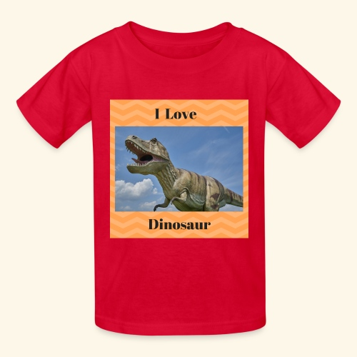 I Love dinosaure - Kids' T-Shirt