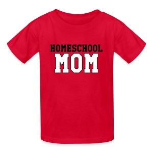 homeschoolmom - Kids' T-Shirt