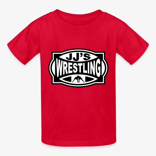 JJs Club Wrestling Logo Mono - Kids' T-Shirt