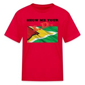 Show Me Your I D Guyana - Kids' T-Shirt